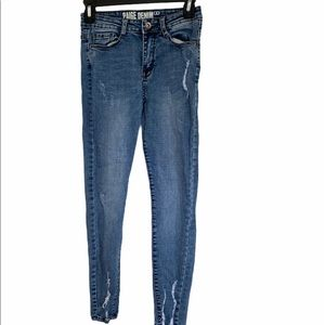 Paige distressed jeans 1long